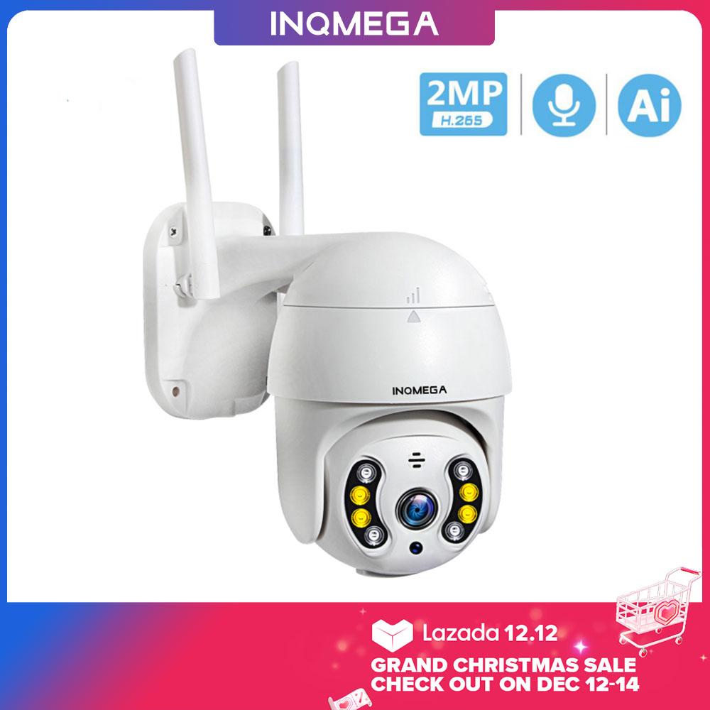 Camera IP Wifi INQMEGA ICSEE Camera IP Không Dây PTZ 1080P Vòm Tốc Độ Zoom Kỹ Thuật Số 4X Chống Nước Ngoài Trời Camera An Ninh CCTV Mini WiFi 1 Inch