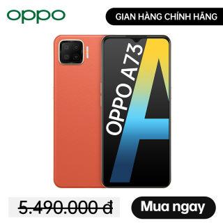 Mới - Điện Thoại Oppo A73 2020 (6GB/128GB) - Gian Hàng OPPO Chính Hãng - Miễn phí vận chuyển - Trả góp 0%
