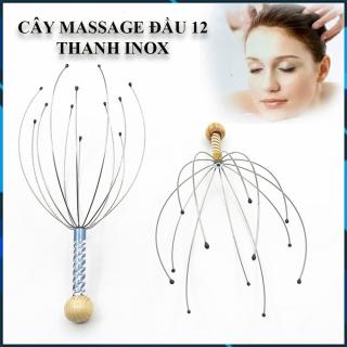 Cây Massage Đầu, Thư Giãn Giảm Stress, Ngủ Ngon Sâu Giấc, Tuần Hoàn Máu, Giảm Đau Đầu, Mát Xa Đầu thumbnail