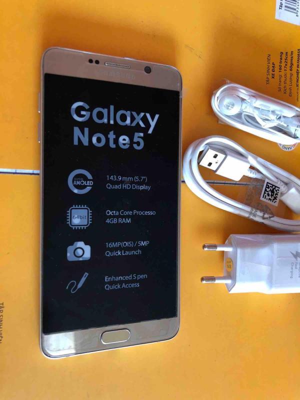 Samsung Galaxy Note 5 Mới Chính Hãng ( Nhập khẩu)