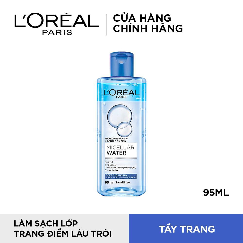 Nước tẩy trang cho da nhạy cảm LOreal Micellar Water 95ml