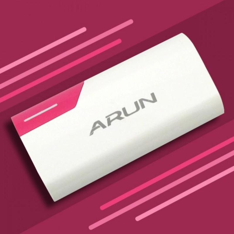 Giá Pin dự phòng arun 5600mAh giá rẻ nhỏ nhắn bỏ túi tiện lợi mọi lúc mọi nơi pin sạc dự phòng