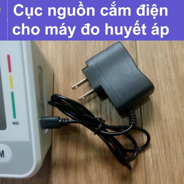 Bộ đổi nguồn adapter cho máy đo huyết áp chân cắm MicroUSB cao cấp