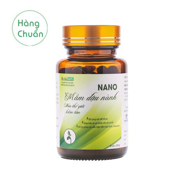Hàng Chuẩn - Nano Mầm đậu nành Metaherb - Viên uống bổ sung nội tiết tố nữ chất lượng cao
