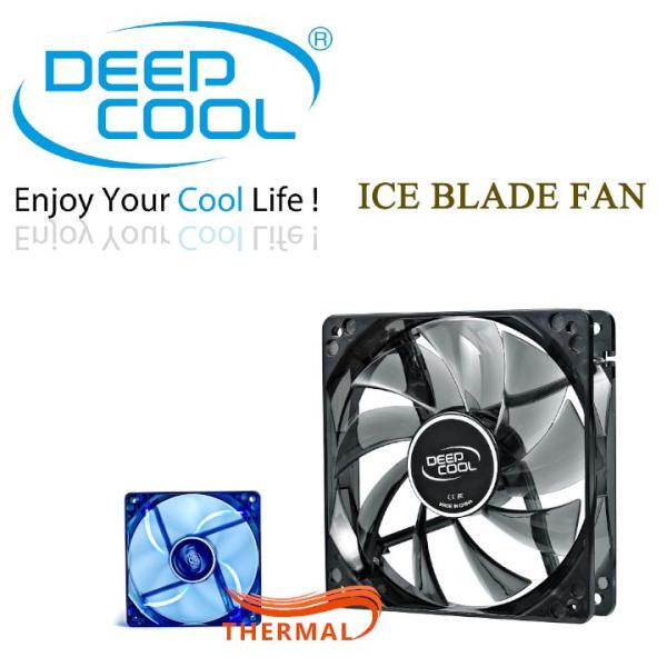 Bảng giá Quạt Fan Case 12cm DeepCool Ice Blade Fan [ThermalVN] Phong Vũ