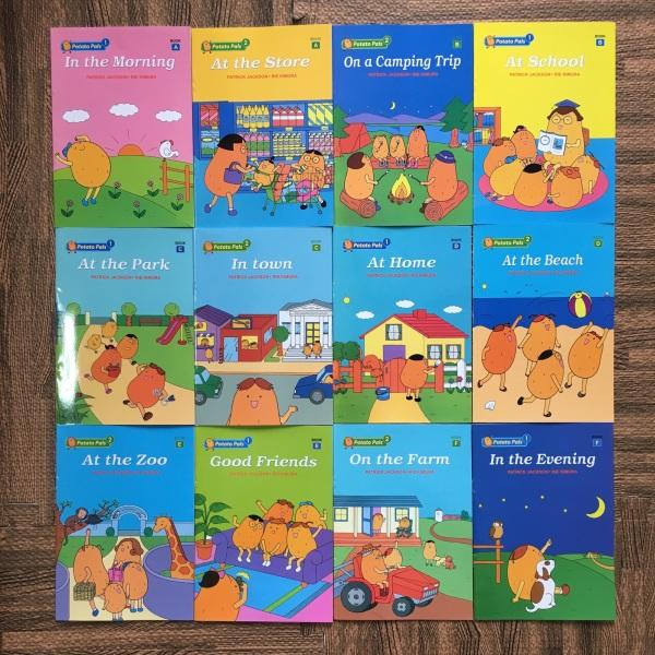 Mua Bộ sách Potato Pals 12 cuốn kèm file nghe ( sách nhập)