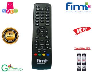 Remote điều khiển đầu thu truyền hình mặt đất FIM+ ,Hàng chất lượng tốt-Tặng kèm PIN thumbnail