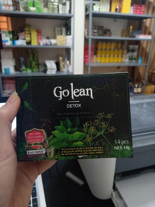 trà giảm cân detox có tem đỏ bảo minh nhập khẩu