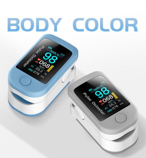 Nơi bán Top Máy Đo Nồng Độ Oxy Trong Máu, Máy Đo Nồng Độ Xung Ngón Tay - Bão Hòa Oxy Trong Máu Nhịp Tim Spo2 PR PI HRV, Màn Hình LCD, Máy Đo Nồng Độ Oxy Cầm Tay Mini Bluetooth Tiện Dụng, Kết Quả Đo Nhanh Và Có Độ Chính Xác Cao