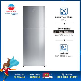 Tủ lạnh Electrolux inverter 256 lít ETB2802J-A