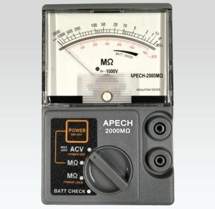 Đồng hồ đo điện trở cách điện APECH-1000MΩ