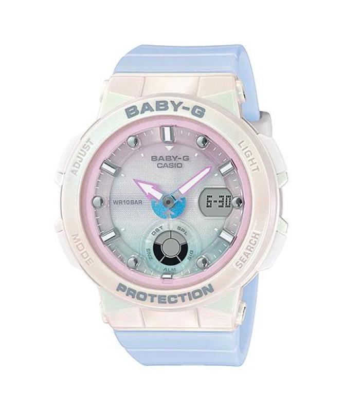 Đồng hồ casio nữ dây nhựa BABY-G BGA-250-7A3DR chính hãng