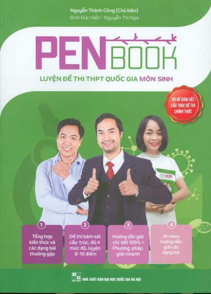 Mua Pen Book Luyện đề thi THPT quốc gia Môn Sinh