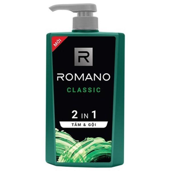 Romano - Tắm Gội 2IN1 Romano Classic 900g giá rẻ