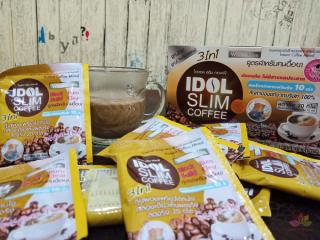 Giảm Cân cà phê 1 hộp 10 gói Giảm cân nhanh Idol slim giảm cân 7