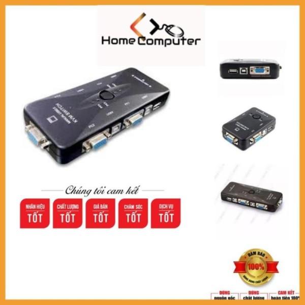 Bảng giá Bộ chia KVM Switch USB 1 ra 2, 1 ra 4. bảo hành 6 tháng Home Computer Phong Vũ