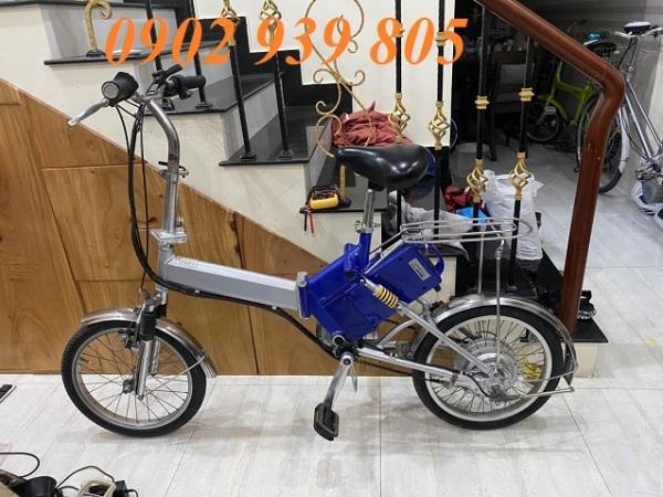 Mua 6500k  Xe đạp điện gấp 20 inch Nhật bãi sườn nhôm