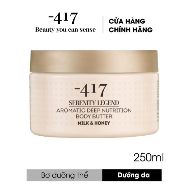 Bơ dưỡng thể - Hương sữa và mật ong Serenity Legend Aromatic Deep Nutrition Body Butter Milk & Honey
