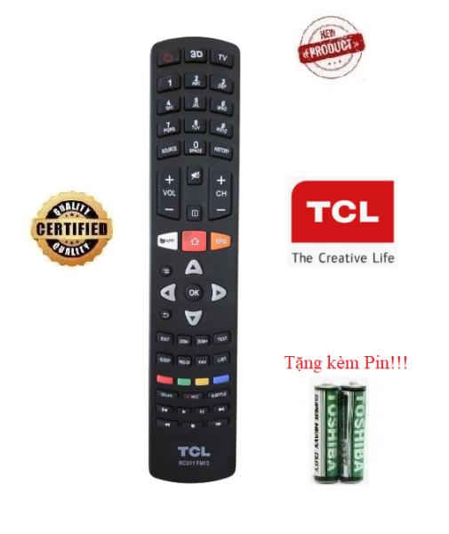 Điều khiển tivi TCL - TV TCL các dòng CRT LCD LED Smart TV- Hàng tốt