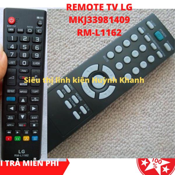 Bảng giá REMOTE TV LG MKJ33981409 VÀ RM-L1162 SIÊU BỀN CHÍNH HÃNG