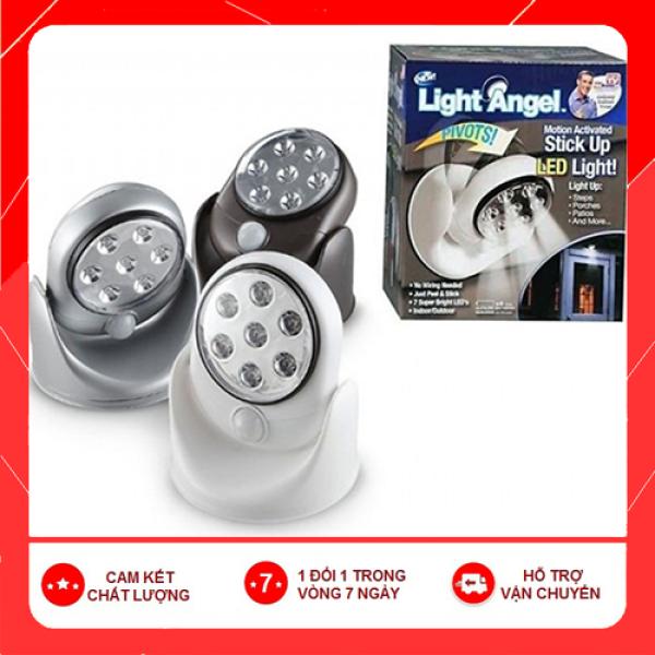 Loại tốt]Đèn led cảm ứng hồng ngoại 7 bóng Light Angel tự động sáng khi có người đi qua-chống trộm rất tốt,tiện lợi trong cuộc sống gia đình-đang HOt rần rần