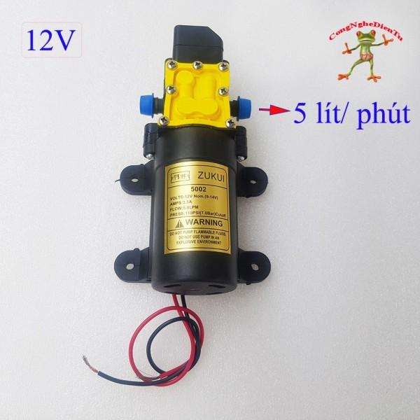 Bảng giá Máy bơm tăng áp 12v lượng nước 5 lít 1 phút 5002 - 75BC Điện máy Pico