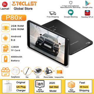 Teclast P80X 4GTablet Android 9.0 IMG GX6250 8inch 1280 x 800 IPS Octa Core 1.6GHz 2GB RAM 32GB ROM Dual Cameras Tablet thumbnail