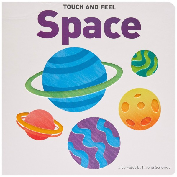 Sách : Touch & Feel Board Book Space
