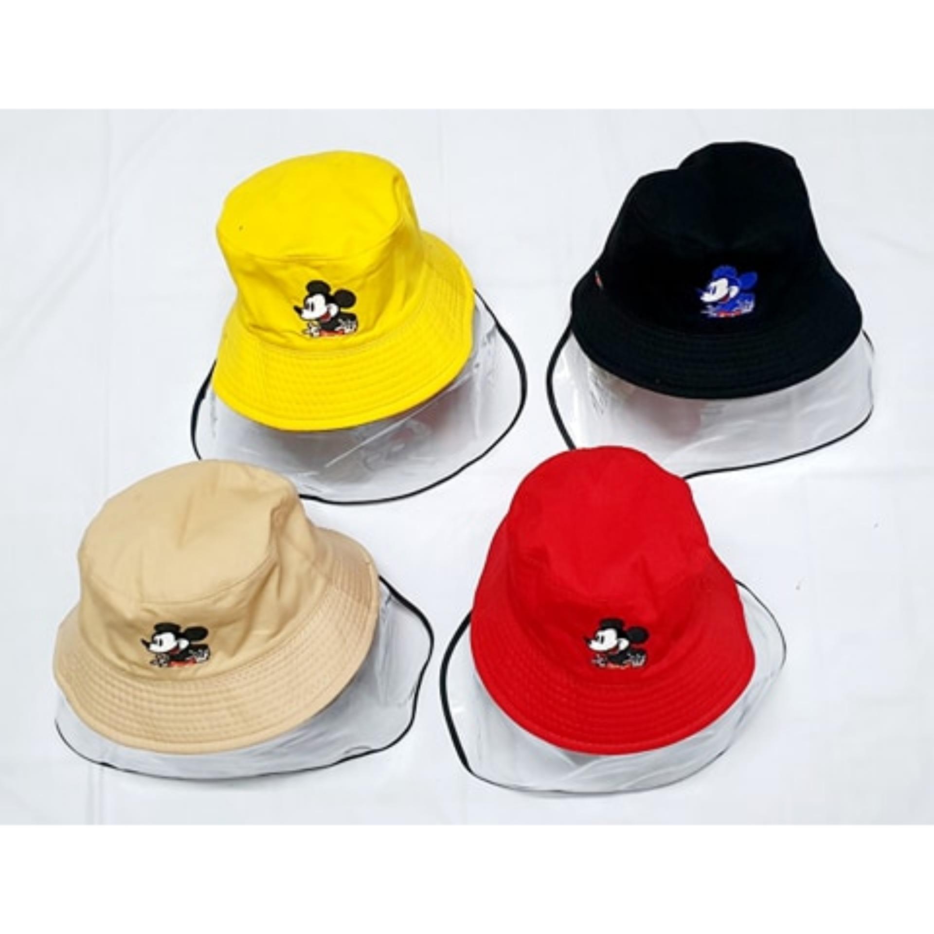 Giá bán Mũ cho bé chống khói bụi có màn che nhựa an toàn