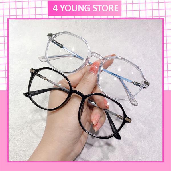 Giá bán Kính giả cận nữ thời trang phong cách Hàn Quốc bảo vệ mắt chống tia UV, kính mát nữ đẹp giá rẻ Hottrend 052