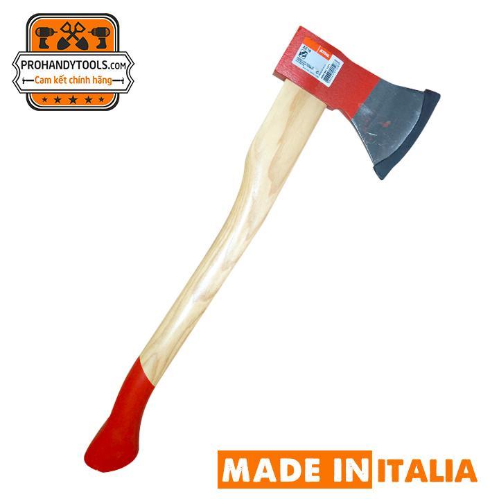 Rìu Chặt Củi, Cứu Hộ, Phượt Rừng STIHL AX10  Made in Italia