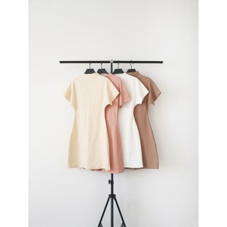 Đầm gân cổ cao AfterBefore thumbnail