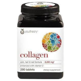 HŨ 290 VIÊN COLLAGEN TỐT CHO DA, MÓNG, TÓC Youtheory Collagen Skin, Hair & Nail Formula thumbnail