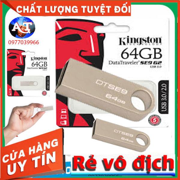 Bảng giá Usb Kingston 64Gb (DTse9) 2gb 16gb 32gb giá rẻ chất lượng hàng đủ dung lượng đủ định dạng NTFS VÀ FAT Phong Vũ