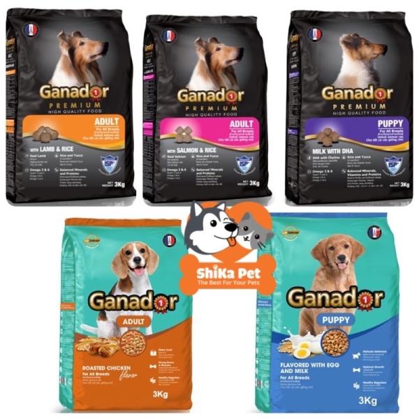 Thức Ăn Chó Ganador Các Loại 3Kg
