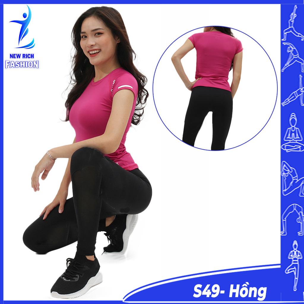 Đồ tập gym nữ cao cấp, thiết kế trẻ trung năng động, chất thun co dãn 4 chiều, mềm mại, thấm hút mồ hôi tốt
