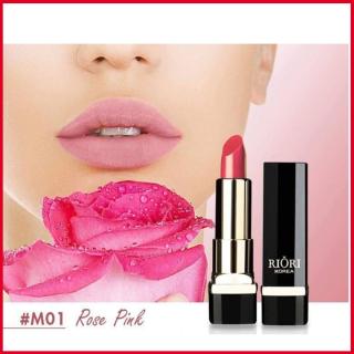 Son lì pha dưỡng lên màu chuẩn, bền màu, lâu trôi không gây khô, thâm môi Hara White Riori Matte Me Lipstick chính hãng có 6 màu son dạng thỏi 3,5g thumbnail