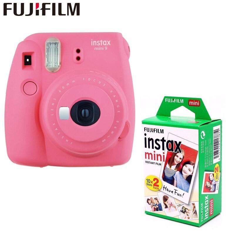 Máy ảnh Chụp Hình Lấy Liền Instax Mini 9 - Tặng Kèm 10 Tấm Phim Fujifilm Giá Ưu Đãi Nhất