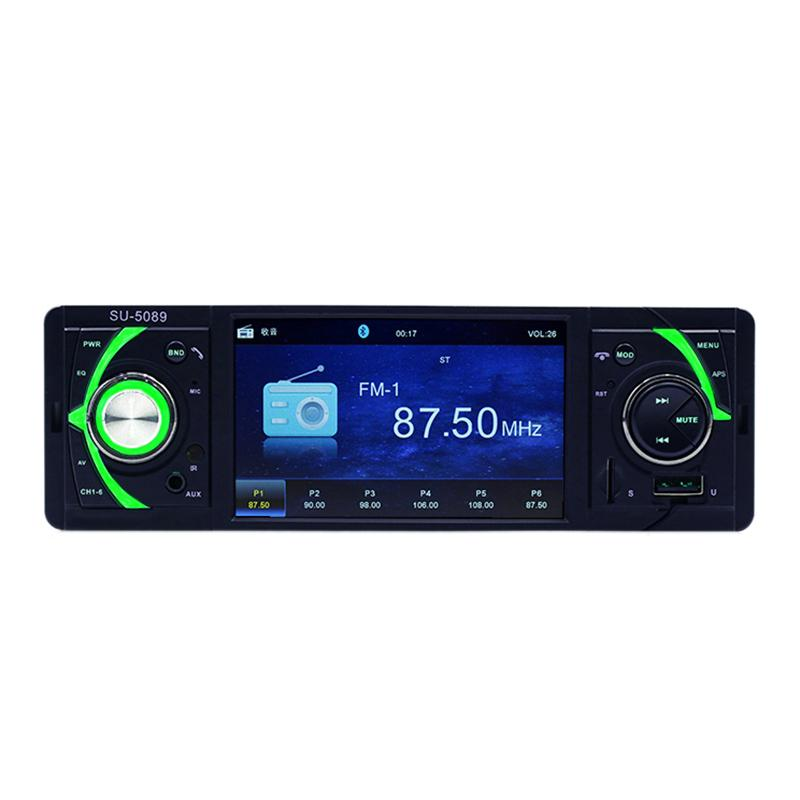 Mã Ưu Đãi Khi Mua 1Din 4.1 Inch Car Radio Wireless Remote Control Bluetooth Hands-Free Fm Aux Sd Card Usb Player Mp4