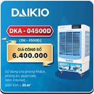 Bảng giá MÁY LÀM MÁT KHÔNG KHÍ DAIKIO DKA-04500C