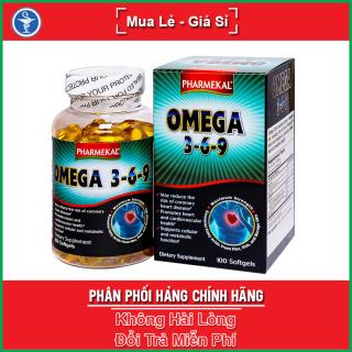 Viên Dầu Cá Omega 369 Pharmekal - Hỗ Trợ Tim Mạch Và Tăng Cường Trí Nhớ thumbnail