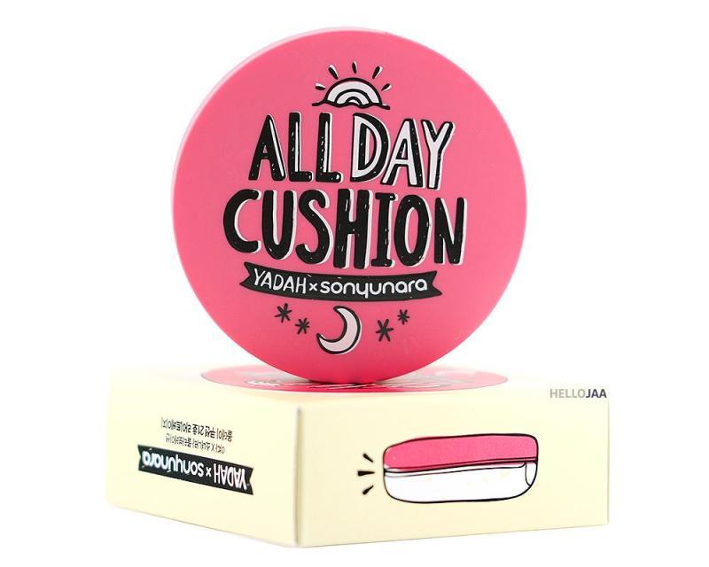Phấn nước Be My Cushion, Phấn nước trang điểm, Cushion Yadah 3 in 1 - Tặng kèm son kem Joy Color