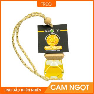 Tinh dầu Cam ngọt AROMA chai treo tự khuếch tán nguyên chất thiên nhiên Sweet Orange 8ml thumbnail