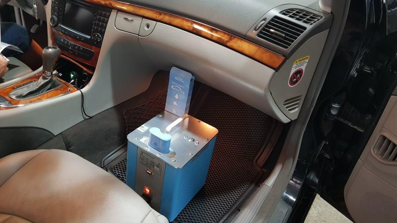 Dịch vụ khử mùi diệt khuẩn, lọc sạch không khí trong xe ô tô