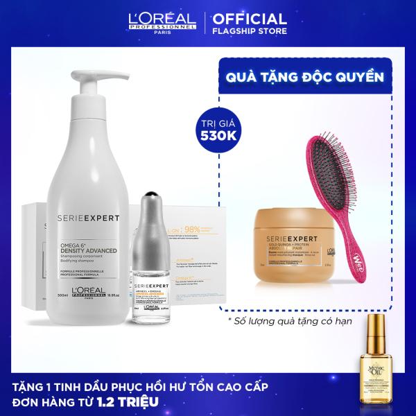 Bộ gội và tinh chất Aminexil giúp ngừa rụng tóc 88% trong 6 tuần LOréal Professionnel tốt nhất