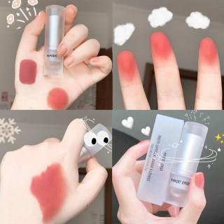 Son môi nhung mịn MAGIC CASA bền màu chống thấm nước độc đáo 6 màu tuỳ chọn thumbnail