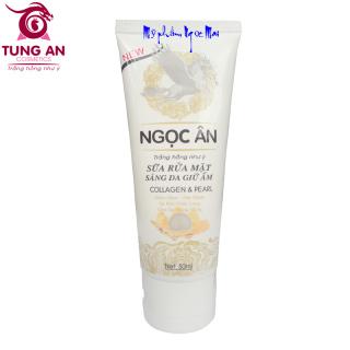 [HCM]Sữa rửa mặt sáng da Giữ ẩm NGỌC ÂN - 50ml thumbnail