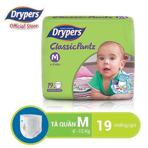Tã Quần Drypers ClassicPantz M 19P Có Giá Tốt