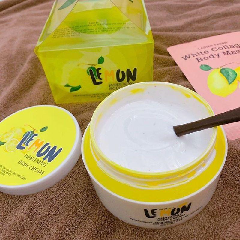 kem body lemon chanh cao cấp