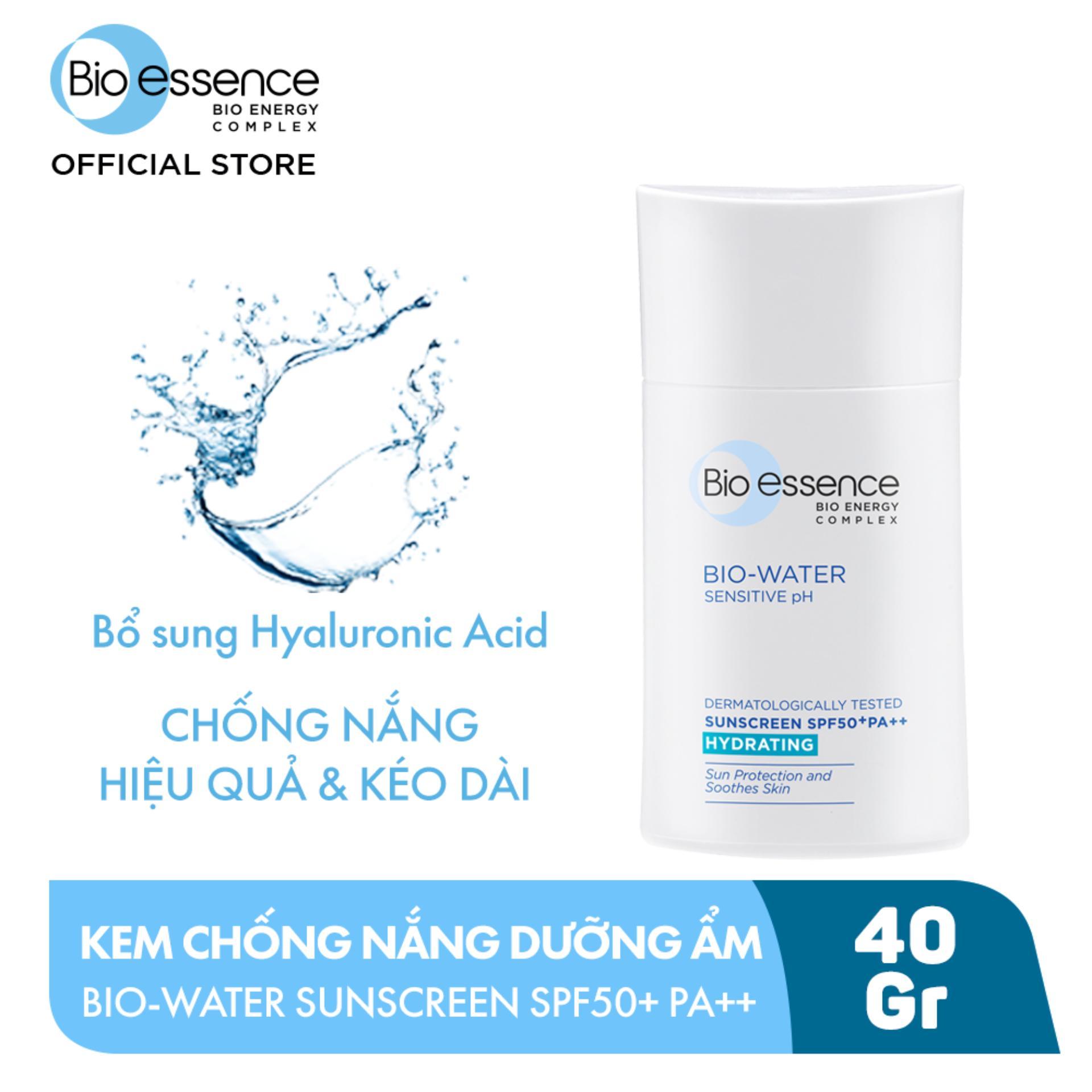 Kem chống nắng cho mặt Bio-Essence Bio-Water Bio-Essence Miracle Bio Water  Cooling Sunscreen SPF50 (Face) 40ml | Lazada.vn